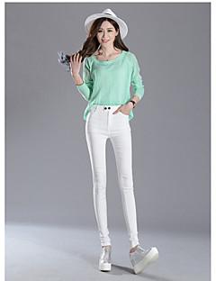voordelige Damesbroeken-Dames Dagelijks Grote maten Standaard Legging - Effen Medium Taille