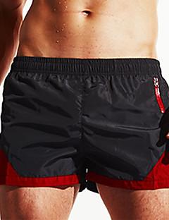 Heren Natpak shorts Vochtigheid Sneldrogend Ademend Elastisch Textiel Binnenwerk Duikpak Short/Broekje-Zwemmen Duiken Strand Surfen Zomer