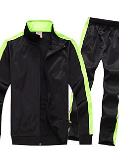 baratos Futebol camisas e Shorts-Crianças Futebol Moletom Respirável Confortável Inverno Primavera Outono Esportes Terylene Futebol