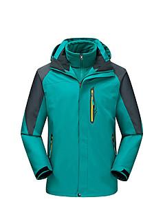 tanie Odzież turystyczna-Męskie Kurtki 3 w 1 Na wolnym powietrzu Zima Wodoodporny Keep Warm Wiatroodporna Polarowa podszewka Rain-Proof Zdatny do noszenia