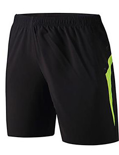 billige Løbetøj-Dame / Unisex Løbeshorts Hurtigtørrende Træning & Fitness / Løb Polyester, Mesh Sort XL / XXL / XXXL