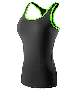 billige Løbetøj-Dame Træningsundertrøje Uden ærmer Hurtigtørrende, Anatomisk design, Påførelig Tank Tops / Kompressionstøj / Toppe for Yoga / Træning &