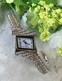 Women's Simulated Diamond Watch Bracelet Watch Chinese Quartz / Alloy Band Casual Rose