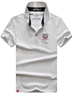 Homens Camiseta de Trilha Respirável Camiseta Blusas para Acampar e Caminhar Verão M L XL XXL XXXL