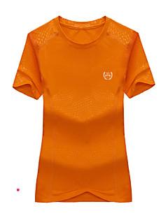 tanie Odzież turystyczna-Męskie Damskie Tričko na turistiku Na wolnym powietrzu Wodoodporny Quick Dry Oddychający T-shirt Topy Wspinaczka