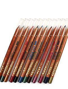 אייליינר עפרון יבש ברק צבעוני טבעי עיניים M.N