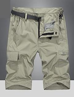 tanie Turystyczne spodnie i szorty-Męskie Kraťasy na turistiku Na wolnym powietrzu Quick Dry Oddychający Spodnie Camping & Turystyka