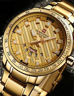 Herrn Sportuhr Militäruhr Kleideruhr Modeuhr Armband-Uhr Armbanduhren für den Alltag Armbanduhr Japanisch Quartz Kalender Wasserdicht