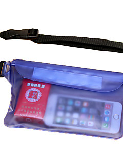 Úszás Tengerpart Utazás Télisportok Csomag derékra Cell Phone Bag Hidratáló táska és ivótasak Vízálló Dry Bag Belt Pouch Vízálló erszény
