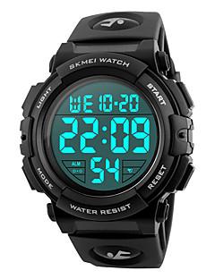 billige Digitalure-SKMEI Herre Digital Digital Watch / Armbåndsur / Militærur / Sportsur Japansk Alarm / Kalender / Kronograf / Vandafvisende / Stor urskive
