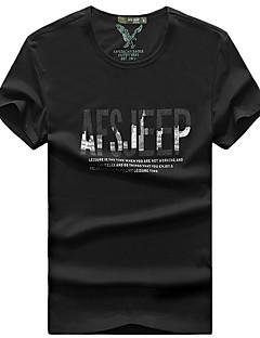 tanie Koszulki turystyczne-Męskie Tričko na turistiku Na wolnym powietrzu Oddychający T-shirt Topy Wędkarstwo