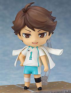 billige Anime cosplay-Anime Action Figurer Inspirert av Haikyuu Oikawa Tooru PVC 10cm CM Modell Leker Dukke Herre Dame