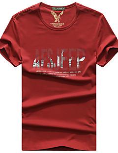Homens Camiseta de Trilha Respirável Camiseta Blusas para Pesca Verão M L XL XXL XXXL