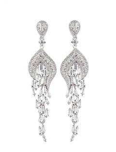 ieftine -Pentru femei Cercei Picătură Bijuterii Design Unic Modă Euramerican Zirconiu Aliaj Bijuterii Bijuterii Pentru Nuntă Zi de Naștere