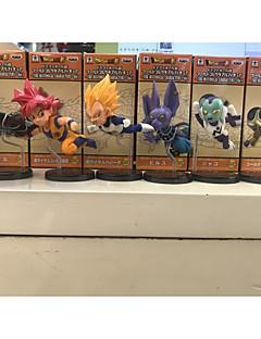 Anime Action Figurer Inspirert av Dragon Ball Goku PVC 8 CM Modell Leker Dukke