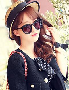 cheap Fashion Hats-Women's Cute Holiday Straw Hat - Dots