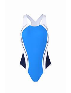 זול בגד ים ספורטיבי-בגדי ריקוד נשים בגד ים נושם 100% פוליאסטר ללא שרוולים בגדי ים ביגוד חוף חליפת גוף גלישה / חוף / סטרצ'י (נמתח)