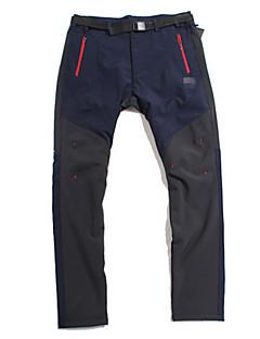 tanie Turystyczne spodnie i szorty-Męskie Softshellové kalhoty Wiatroodporna Spodnie na Bieganie Sporty zimowe L XL XXL
