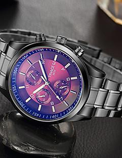 Herrn Modeuhr Armbanduhr Einzigartige kreative Uhr Armbanduhren für den Alltag Quartz Edelstahl Band Cool Bequem Kreativ Luxuriös Elegante