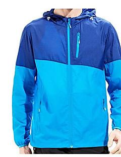お買い得  アウトドアウェア-女性用 ハイキング ジャケット 防風 高通気性 防水機能 下着 のために ランニング 秋 S M L XL XXL