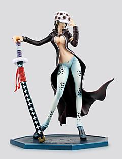 Anime Action Figurer Inspirert av One Piece Trafalgar Law 20 CM Modell Leker Dukke