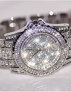 billige Armbåndsure-Dame Quartz Armbåndsur Kinesisk Kreativ Rustfrit stål Bånd Vedhæng / Luksus / Glitrende / Punkt / Bohemisk / Elegant / Mode / Armring