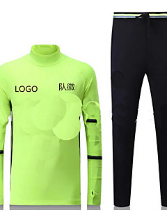 tanie Koszulki piłkarskie i szorty-Męskie Piłka nożna T-shirt Topy Jazda na rowerze Na każdy sezon Jendolity kolor Tencel Bieganie