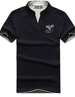 Herrn T-Shirt für Wanderer Oberteile für Angeln Frühling Sommer M L