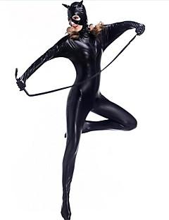 Superhelter Ninja Snikmorder Zentai Drakter Cosplay Kostumer Dame Halloween Jul Karneval Nytt År Festival / høytid Halloween-kostymer
