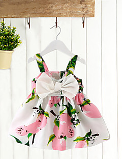 Baby Going out Daily Holiday Patchwork Blouse-Cotton-Summer-