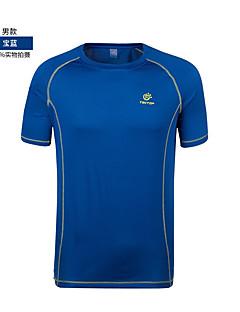 cheap Hiking Shirts-Men's Hiking T-shirt Outdoor Top Football/Soccer Cycling / Bike Running