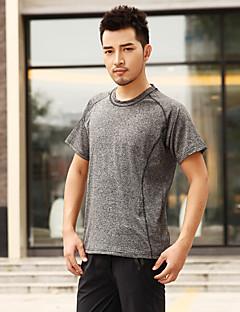 Herrn T-Shirt für Wanderer Rasche Trocknung Kleidungs-Sets für Rennen Sommer M L XL