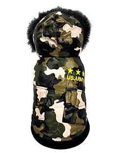 billiga Hundkläder-Hund Jumpsuits Hundkläder Amerikanska / USA Cotton Kostym För husdjur Herr / Dam Ledigt / vardag