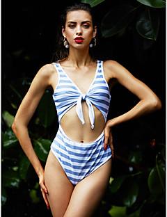 billige Bikinier og damemote 2017-Dame Grime Monokini Stripet