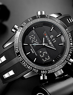 preiswerte Digitaluhren-Herrn Einzigartige kreative Uhr Armbanduhr Armband-Uhr Militäruhr Kleideruhr Modeuhr Sportuhr Armbanduhren für den Alltag Chinesisch