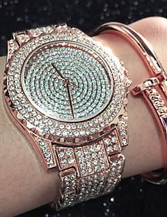 baratos -Mulheres Relógio de Moda Bracele Relógio Único Criativo relógio Relógio Casual Simulado Diamante Relógio Relógio Pavé Chinês Quartzo