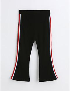 preiswerte Mode für Mädchen-Mädchen Hose Solide Baumwolle Frühling Herbst Schwarz