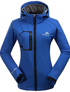tanie Odzież turystyczna-Damskie Softshellová bunda Na wolnym powietrzu Wiatroodporna Oddychający Wearproof Topy Narciarstwo Camping & Turystyka Wędkarstwo