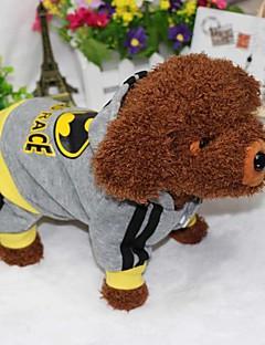 baratos -Cachorro Camisola com Capuz Macacão Roupas para Cães Esportes American / EUA Ocasiões Especiais Para animais de estimação