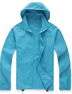 tanie Odzież turystyczna-Damskie Dlouhá pláštěnka Na wolnym powietrzu Fast Dry Anti-Wear Quick Dry Wiatroodporna Ultraviolet Resistant Topy Camping & Turystyka