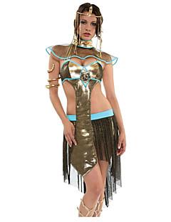 billige Voksenkostymer-Egyptiske Kostymer Queen Cleopatra Skjørt Cosplay Kostumer Party-kostyme Dame Halloween Karneval Festival / høytid Halloween-kostymer