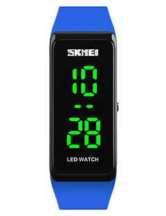 cheap Jewelry & Watches-SKMEI Women's Ladies Sport Watch Wrist Watch Digital Watch Japanese Digital Black / Blue / Red 30 m Water Resistant / Water Proof Calendar / date / day Luminous Digital Fashion - Red Green Blue Two