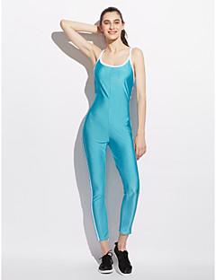 billige Jumpsuits og sparkebukser til damer-Dame Aktiv Kjeledresser - Stribe, Åpen rygg U-hals
