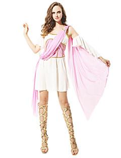 billige Halloweenkostymer-Romerske Kostymer Gudinne Cosplay Cosplay Kostumer Party-kostyme Dame Halloween Karneval Festival / høytid Halloween-kostymer Vintage