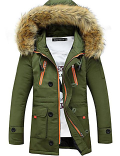 Men's Casual/Daily Casual Winter Coat