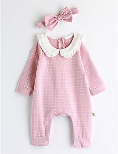 Baby Einzelteil Punkte Baumwolle Frühling/Herbst Lange Ärmel