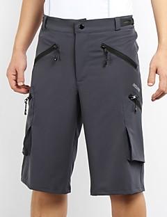 billige Sykkelklær-Arsuxeo Herre Sykkelshorts Sykkel Hengende Shorts / MTB-shorts / Bunner Fort Tørring, Anatomisk design Klassisk Polyester, Spandex Svart
