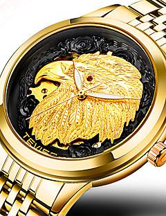 בגדי ריקוד גברים שעוני ספורט שעונים צבאיים שעוני שמלה שעוני אופנה שעון יד שעון צמיד שעון מכני ייחודי Creative צפה שעונים יום יומיים