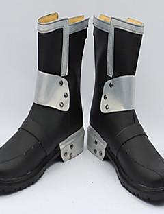 נעלי קוספליי מגפי קוספליי Sword Art Online Kirito אנימה נעלי קוספליי עור פוליאוריתן עור PU Burgundy מבוגרים יוניסקס