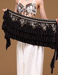 Vatsatanssi Lantiohuivit Naisten Suoritus Polyesteri Metalli Ketju 1 Kappale Lantiohuivi vatsatanssiin